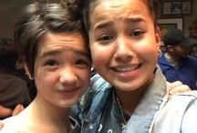 Peyton and Sofia