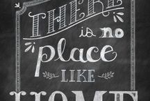 Chalkboard Art / I have a chalkboard....now what? / by Jen Melder