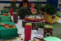 Festa Escolar - Tema Masha e Urso