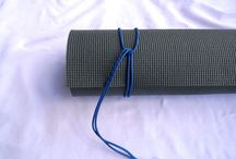 DIY Yoga Mat Straps / Make your own 3n1 Yoga Mat Strap or buy one here. https://www.etsy.com/listing/249119855/3n1-yoga-mat-strap-free-shipping-on-all?ref=shop_home_feat_1