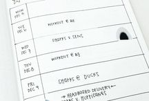 DIY - handlettering journal