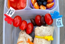 Lunchbox collaborations / Packing a lunch- portion correct and easy to transport / by Erin Yingling