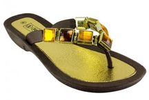 1 Docks Beaded Sandals / Women's beaded sandal brand available exclusively at Shop The Docks