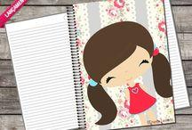 Cadernos personalizados Universitários