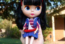 Blythe in Mattel