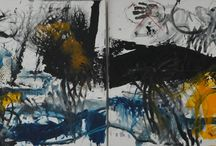 abstract art / http://www.liviunedelcu.com/ Lately I have worked just on abstract paintings as I find it the perfect way of expressing myself at the moment. Here I share with you just a selection of my abstract canvases.