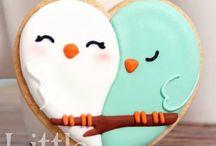 Печенье ко дню Валентина