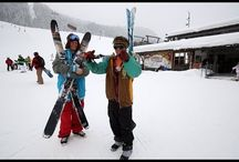 Ski features