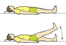rehabilitační cviky po operaci kolene