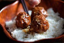 Boulettes de viande sauce teriyaki maison
