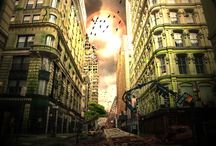 Apocalyptic / Matte Painting