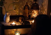 Espacios para altares, meditación e incienso!!! / Espacios ZEN