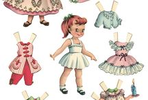 paper dolls my love / by Lorna Shakerin