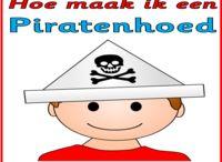 Kleuter piraten. / Thema piraten voor kleuters.