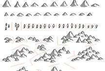 geo symbols old maps