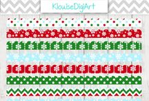 Digital Ribbons / Here are my Digital Ribbons from my store.