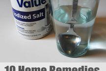 home remedies