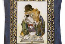 Anna Aleskovskaya - Handmade DOGS souvenirs
