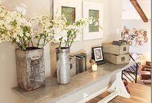 Livingroom / Wall, colors, light