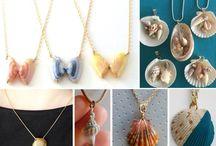 joyas con conchas