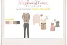 What to wear - Color schemes, etc