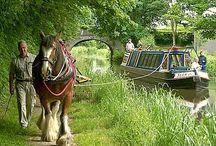 english canal longboats
