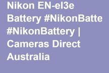Nikon Camera Battery / http://www.camerasdirect.com.au/camera-batteries-chargers/dslr-camera-batteries/nikon-dslr-camera-batteries  #NikonBattery #Nikon #NikonDSLR #NikonDSLRBattery