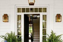 Front Door Decor / Wreaths, Front Door Decoration, Home Decor, Curb Appeal, Beautiful Doors, DIY