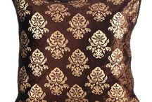 Damask Pillows/Cushions