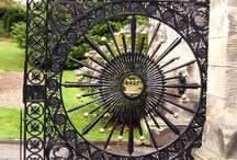 """Gates / """"Still around the corner, there may wait a new road or a secret gate."""" J.R.R. Tolkien"""