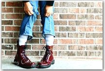 In the Closet: Shoes / Boots and shoes / by {Living Outside the Stacks}