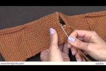 Knitting / Seams