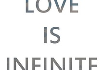 Infinity... now, forever, and always! ♥ / by Heather Bullen