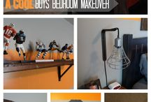 New house X boys room