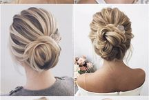 My hair up do ideas...