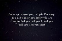 Lyrics / by Lauri Pierce