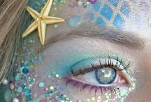 Mermaid make up