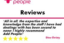 Addpeople Reviews / Take a look at what our customers think about us with a selection of Add People reviews!