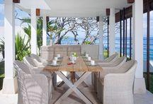 Столовые / Столовые группы для террасы, сада или гостиной
