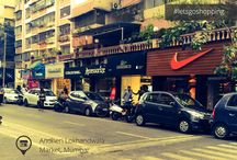 Andheri Lokhandwala Market Mumbai / Fittingly situated in the heart of Mumbai suburbs, 'Lokhandwala Market' has always attracted hoards of shoppers, both tourists and locals alike. With more than hundred shops and an array of inviting eateries, this place is a paradise of its kind for 'shopoholics'. All in all a great place to shop and eat, two things loved by every women :)  This board is a collection of walk through images from a shopping day well spent at Andheri Lokhandwala Market