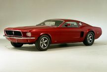 FORD MUSTANGS THAT NEVER WERE / Ford Mustang Concept Cars