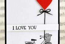 ¡Hoy es el día de los enamorados! / Cuantas ideas para hacer tarjetas y empaquetado en este día tan amoroso. ¡Felicidades!