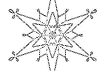CROCHET SNOWFLAKES PATTERNS