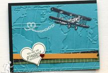 Stampin' Up! - Sky is the Limit / Stampin' up stamp set and card design