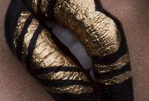Lèvres dorées