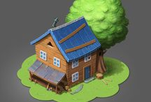 House 3d icon