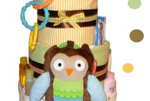 Nappy / Diaper Cakes / Nappy diaper cakes, including DIY help on creating your own / by The Baby Shower Shop