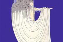 Art Deco Illustration & Design / Art Deco style illustration, art & design