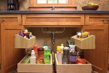 keuken kastje opgeruimd