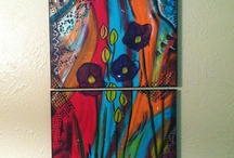 Fabulous Foursome - Canvas Night!  / by Tia Youker